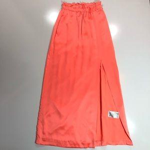 Banana Republic Monogram : Orange Maxi Skirt